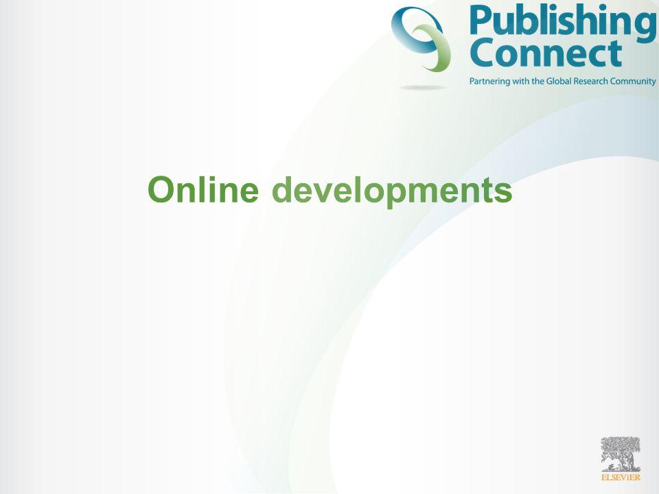 Online developments
