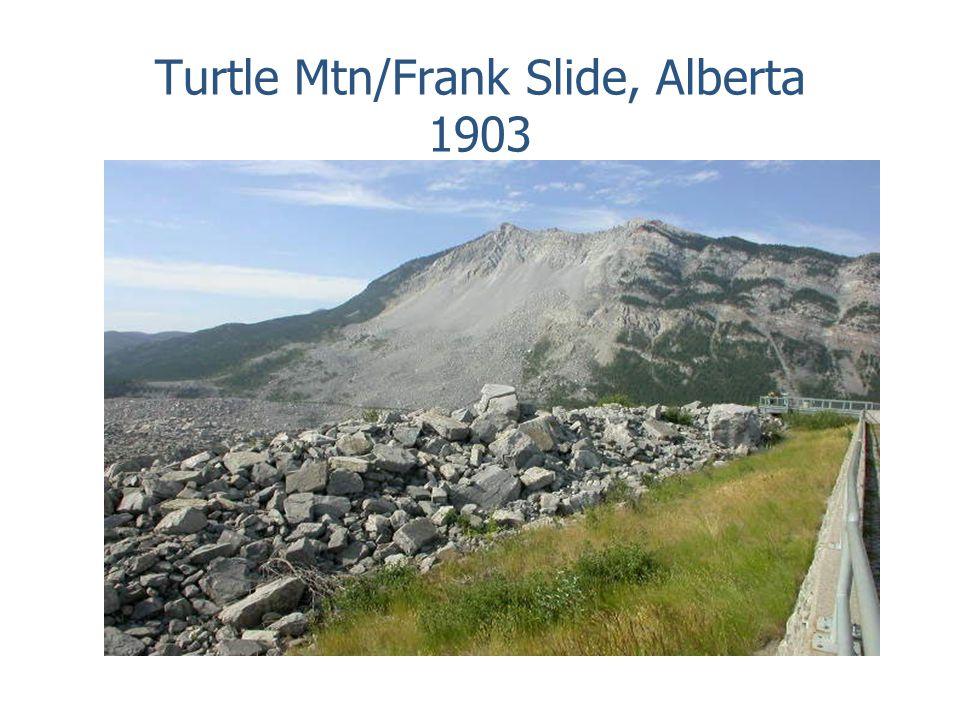 Turtle Mtn/Frank Slide, Alberta 1903