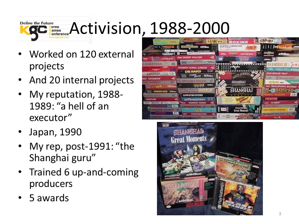 Good When good is paramount: AAA games When [some aspect of] quality is flexible – Usual cuts: features, length/complexity – Rare to sacrifice visual quality – Fun is never expendable Example: when good is paramount – L.A.