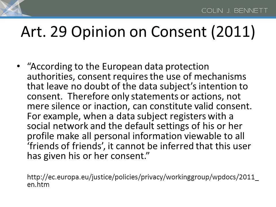 Safer Social Networking Principles for the EU (2009) Principle 6: Enable and encourage users to employ a safe approach to personal information and privacy.