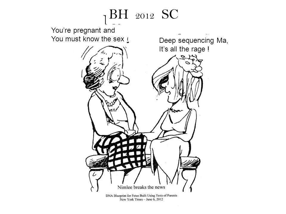 You're pregnant and You must know the sex Deep sequencing Ma, It's all the rage ! BH 2012 SC