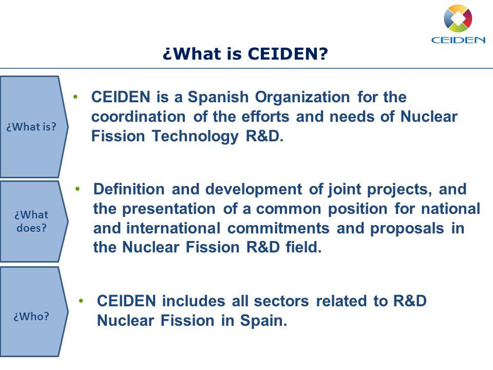 ¿What is CEIDEN.