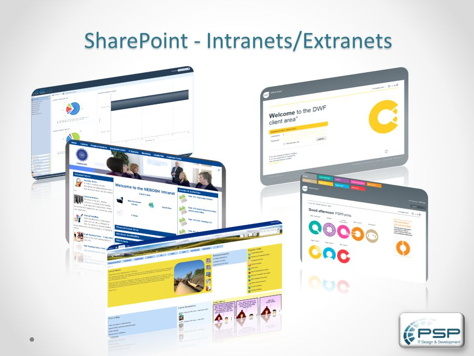 SharePoint - Intranets/Extranets