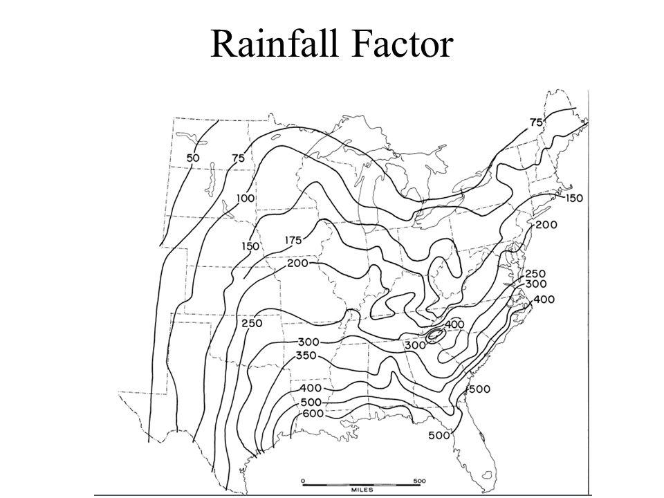Rainfall Factor
