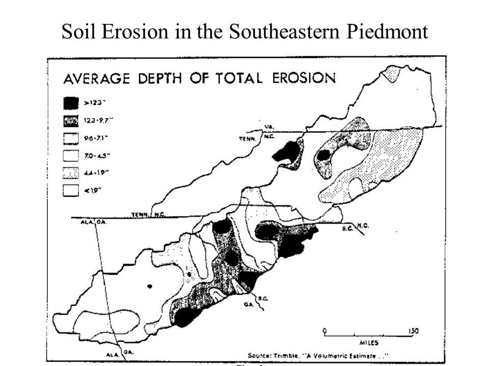 Soil Erosion in the Southeastern Piedmont