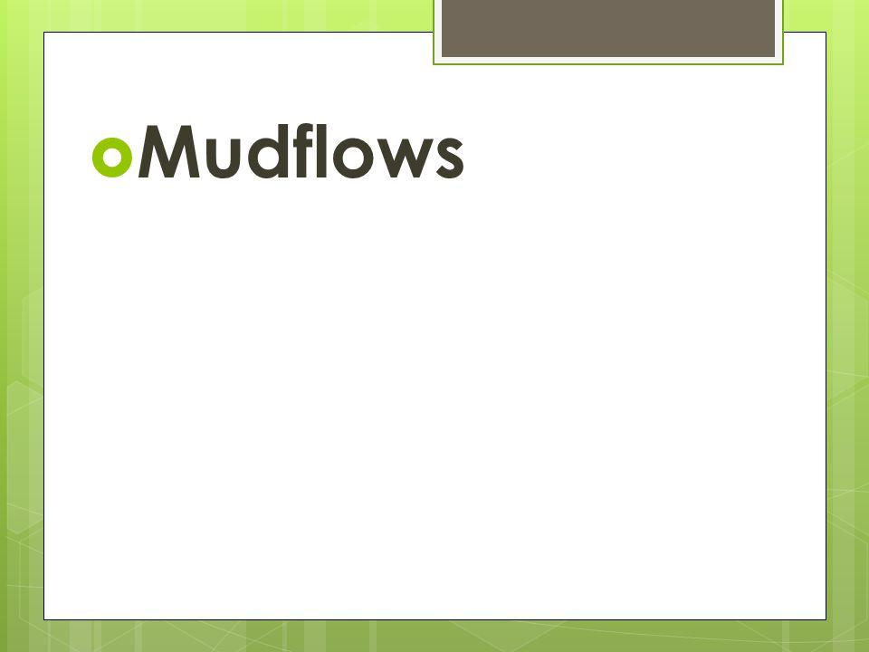 MMudflows