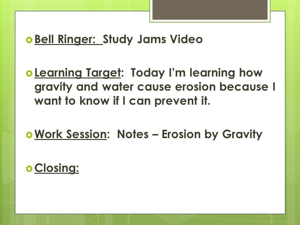 Study Jams Video Breaker and Whoosh