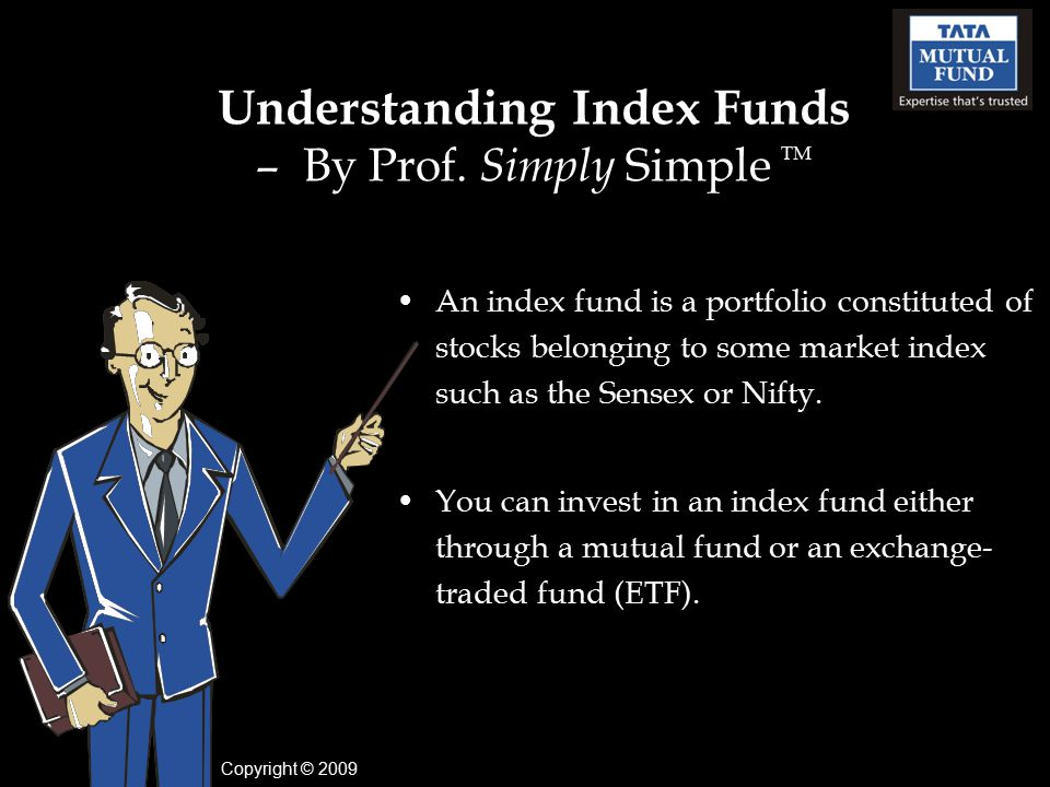 Understanding Index Funds – By Prof.