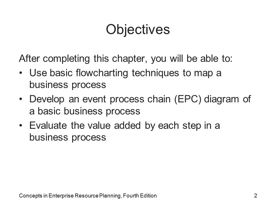 Concepts in Enterprise Resource Planning, Fourth Edition43 System Landscape Concept SAP recommends a system landscape for implementation –Three completely separate SAP systems: Development (DEV) Quality Assurance (QAS) Production (PROD) –Transport directory: special data file location on DEV server