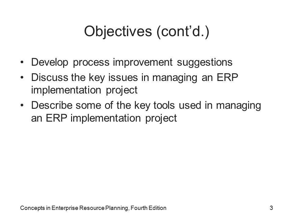 Concepts in Enterprise Resource Planning, Fourth Edition44 System Landscape Concept (cont'd.) Figure 7-18 System landscape for SAP ERP implementation