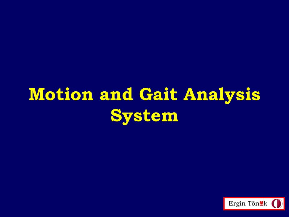 Motion and Gait Analysis System