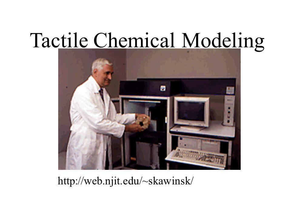 http://web.njit.edu/~skawinsk/ Tactile Chemical Modeling