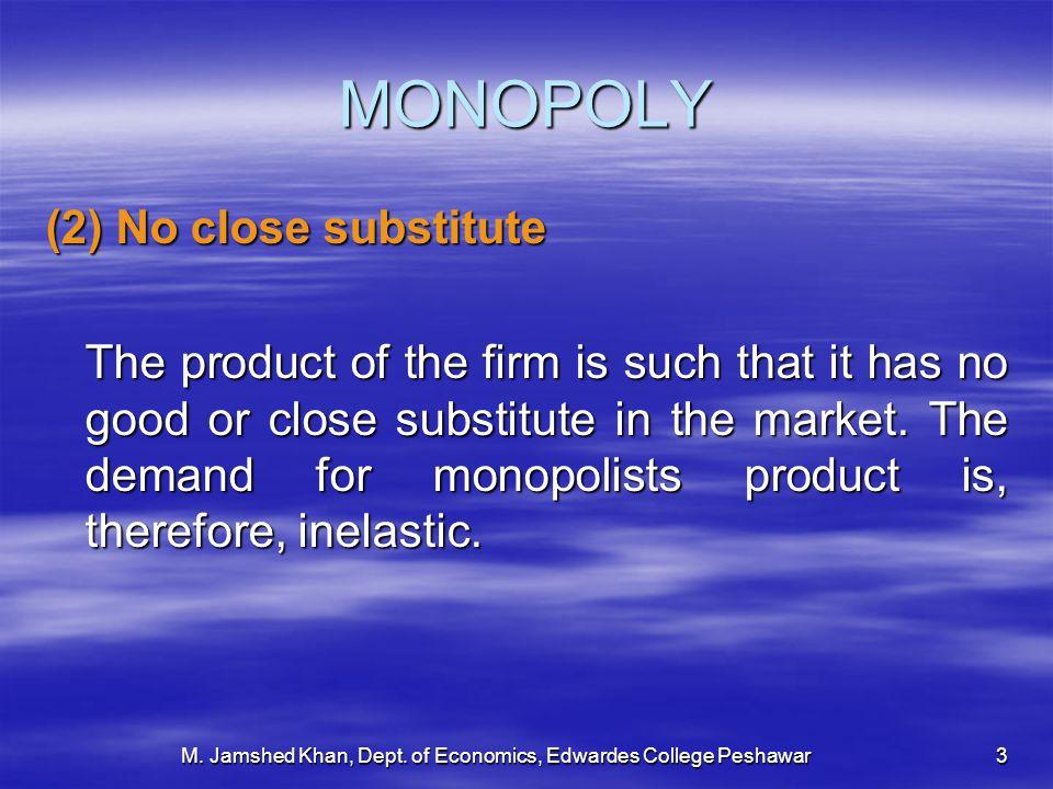 M. Jamshed Khan, Dept. of Economics, Edwardes College Peshawar14