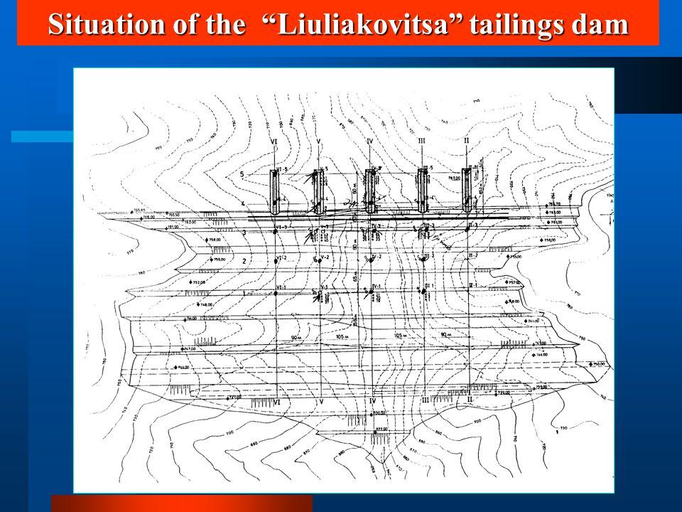 Situation of the Liuliakovitsa tailings dam