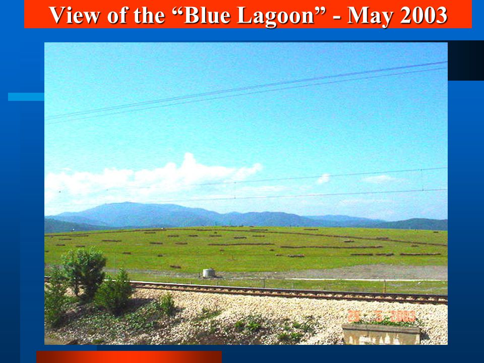 View of the Blue Lagoon - May 2003