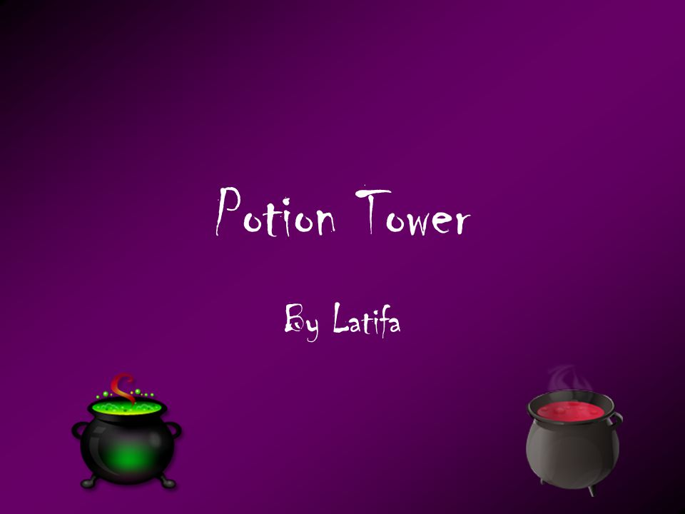 Potion Tower By Latifa