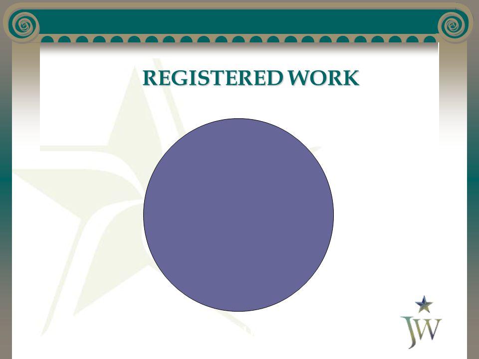 REGISTERED WORK Deposit Copy