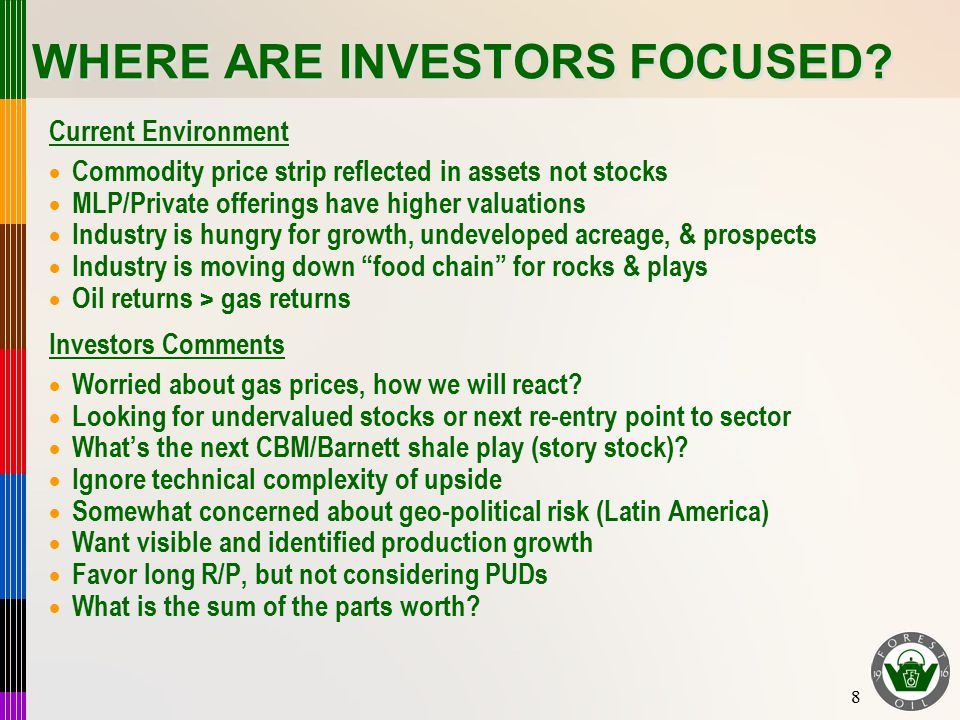 8 WHERE ARE INVESTORS FOCUSED? Current Environment  Commodity price strip reflected in assets not stocks  MLP/Private offerings have higher valuatio