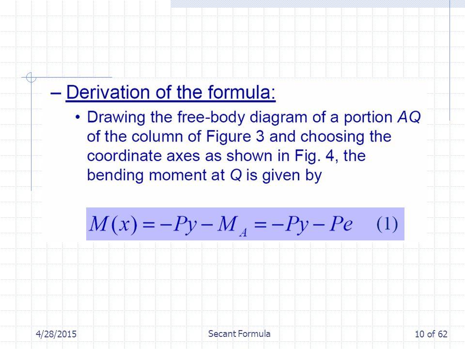 4/28/2015 Secant Formula 10 of 62