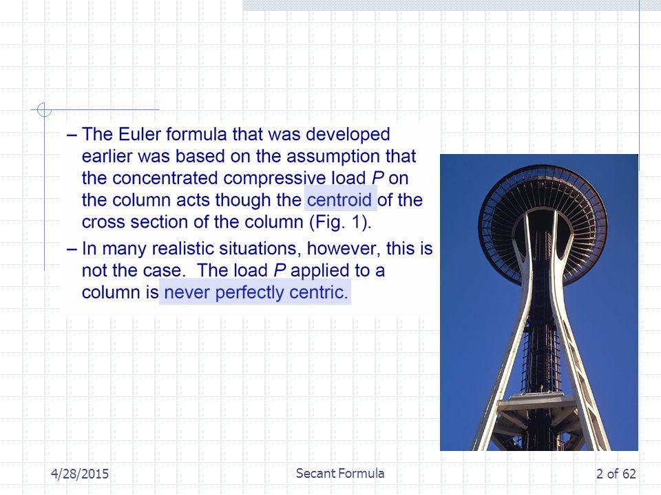 4/28/2015 Secant Formula 2 of 62