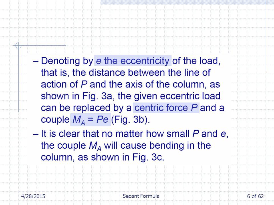 4/28/2015 Secant Formula 6 of 62