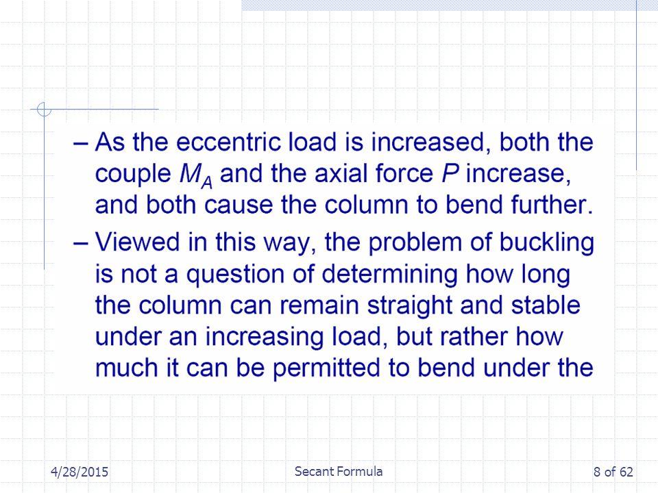 4/28/2015 Secant Formula 8 of 62