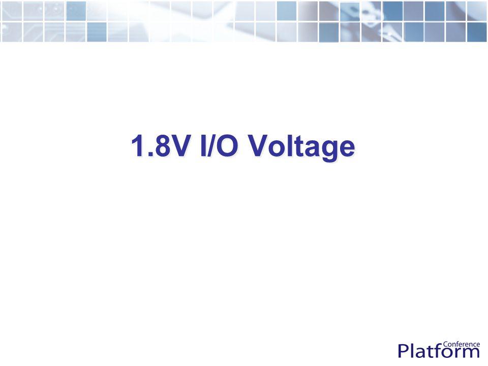 1.8V I/O Voltage