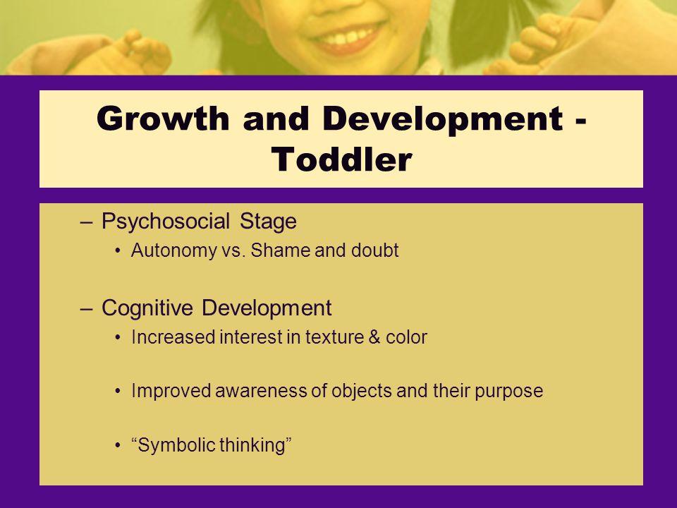 –Psychosocial Stage Autonomy vs.