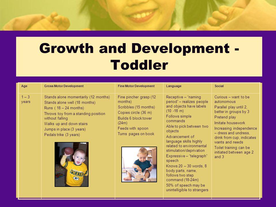 growth and motor development hallmark
