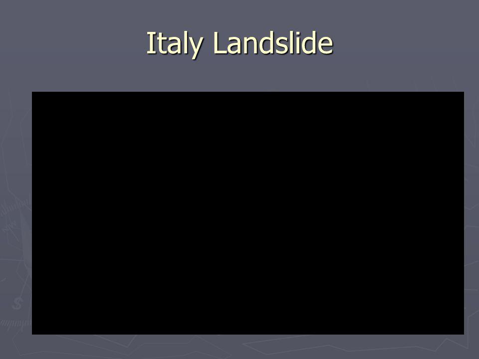 Italy Landslide