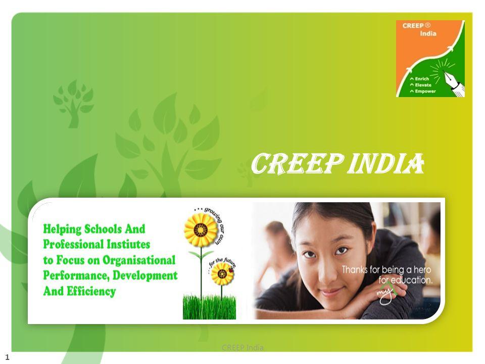 1 CREEP India CREEP INDIA