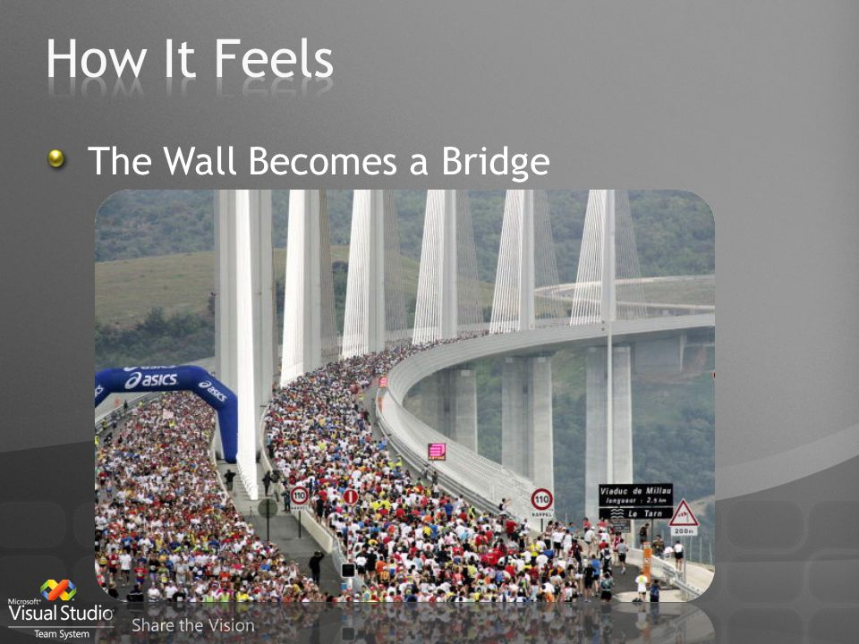 The Wall Becomes a Bridge