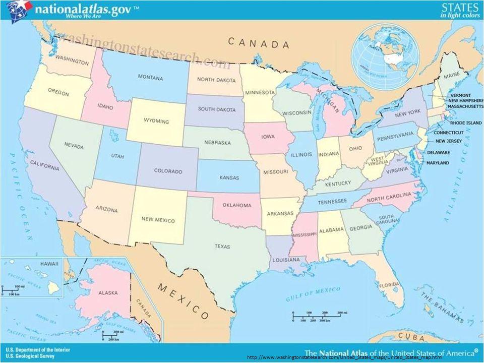 http://www.washingtonstatesearch.com/United_States_maps/United_States_map.html