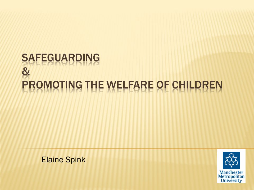 To increase awareness of the wider context, legislation & frameworks for safeguarding/child protection and promoting the welfare of children and young people  To know what constitutes abuse and to appreciate the scale of abuse  To understand aspects of offender behaviour and how child sex abusers typically operate within organisations  To know what to do if you have concerns about a child