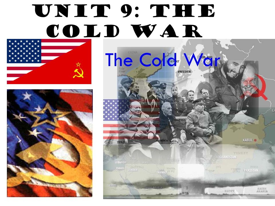 Origins of the Cold War The Cold War lasted from the end of WWII (1945) until the collapse of the Soviet Union (1989) The United States and the Soviet Union represented different fundamental values.