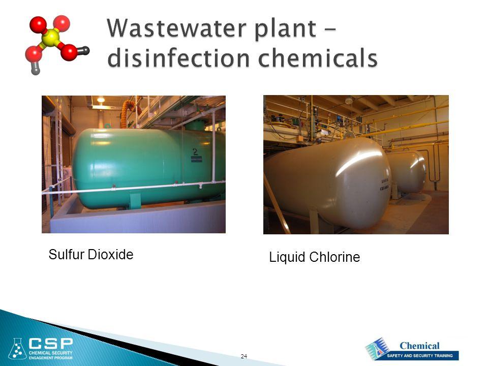 Liquid Chlorine Sulfur Dioxide 24