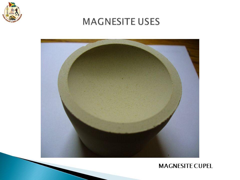 MAGNESITE CUPEL