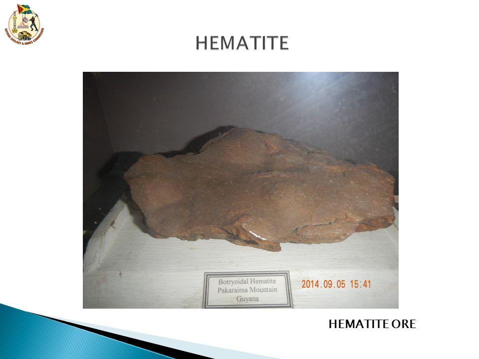 HEMATITE ORE