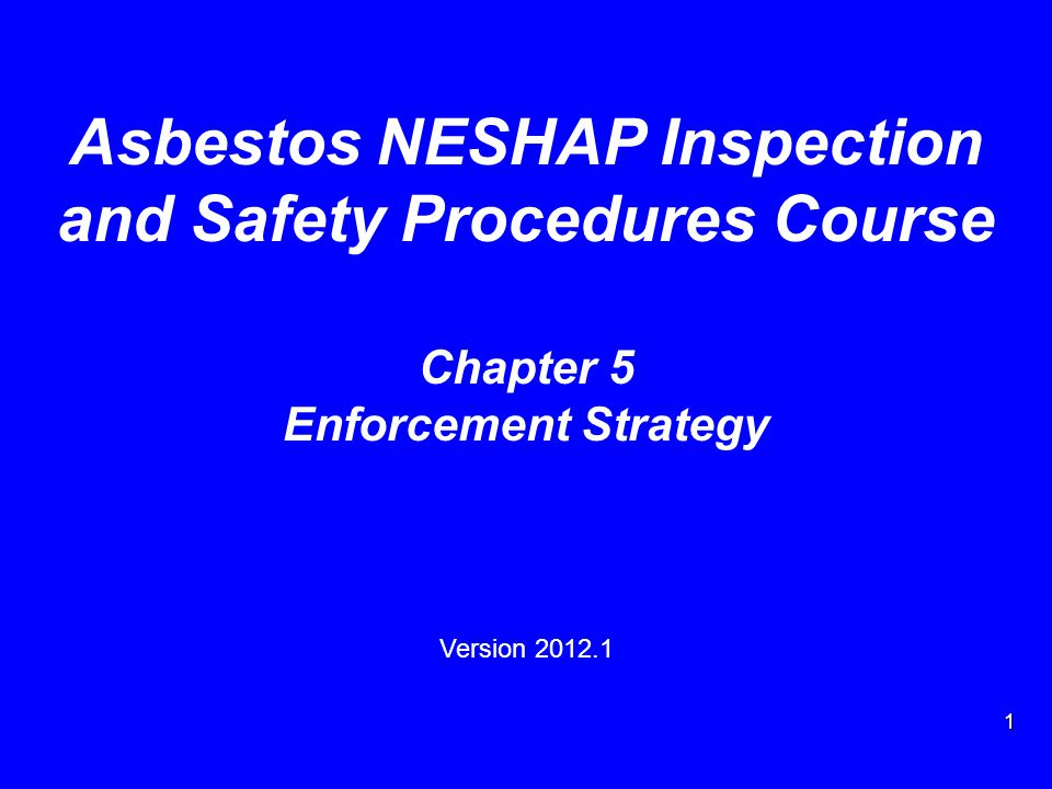 2 Enforcement Strategy Topics History Strategy components Additional information