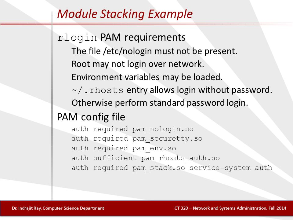 Module Stacking Example Dr.
