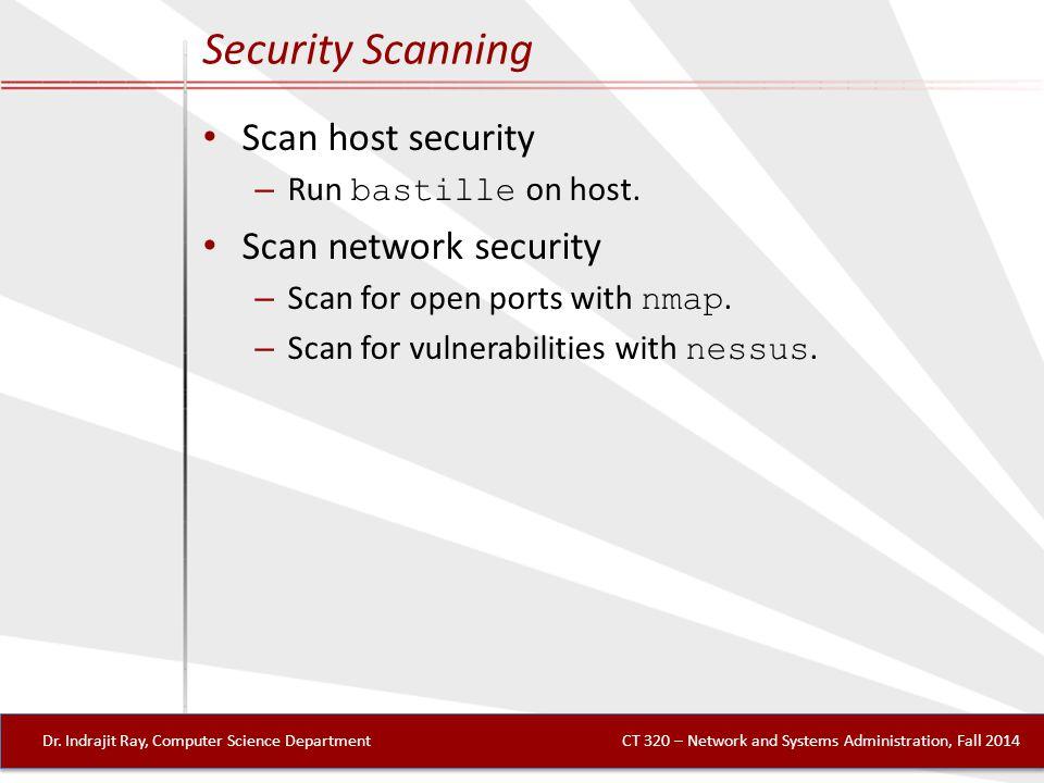 Security Scanning Dr.