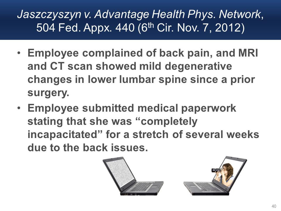 Employee complained of back pain, and MRI and CT scan showed mild degenerative changes in lower lumbar spine since a prior surgery. Employee submitted