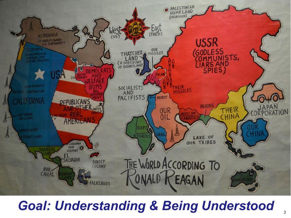 3 Goal: Understanding & Being Understood