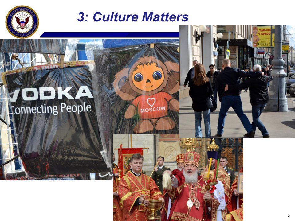 9 3: Culture Matters