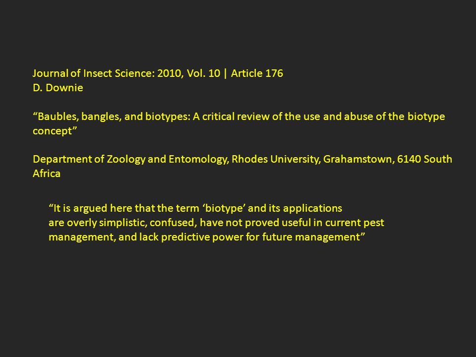Journal of Insect Science: 2010, Vol. 10 | Article 176 D.