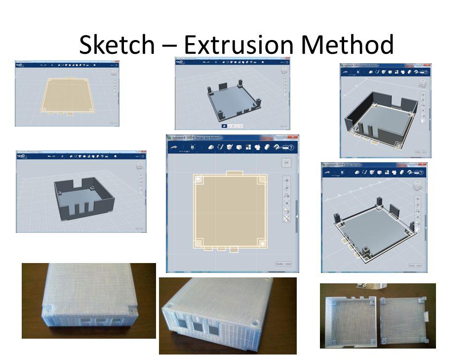 Sketch – Extrusion Method