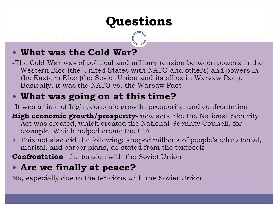 BY: NATALIE OWCHARIW AND SARAH GALLO Formation of NATO/Warsaw Pact By: Natalie Owchariw and Sarah Gallo