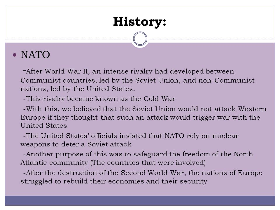 Background Information: Warsaw Pact Treaty signed on May 14, 1955 Named Warsaw Pact Treaty because it was signed in Warsaw The members that went inclu