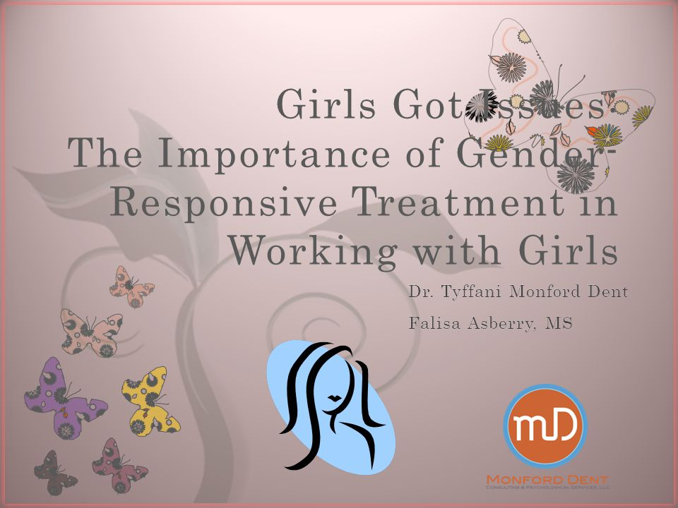SAMHSA Assertions about working with girls
