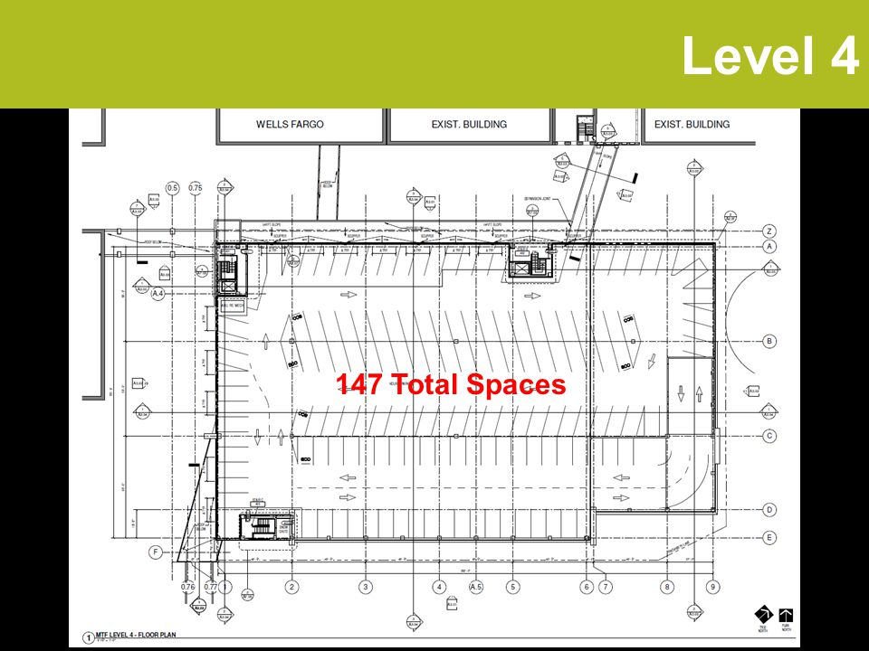 Level 4 147 Total Spaces